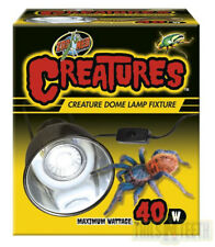 Zoo Med Creatures Creature Dome Lamp Fixture - Max 40Watts