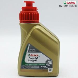 Gabelöl Motorrad 5W 100% Kunststoff Universal, Geeignet Use Racing, 500ML