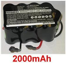 Batterie 2000mAh type TB01020701 Pour Primedic DEFI-B