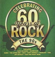 Celebrating 60 Years Of Rock - The 90s - CD Album NEW