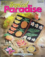 Tropical Paradise PLASTIC CANVAS Pattern Project Book