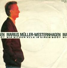 """Marius müller-westernhagen We Sit All in 7 """" S5709"""