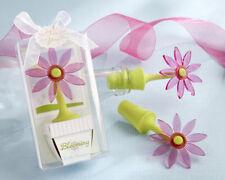 Blooming Flower Wine Bottle Stoppers Wedding Favors