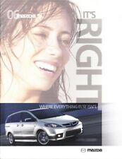 2006 06 Mazda 5 Series   original sales brochure mint