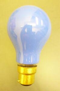 60W 240V Push In Blue Coloured Light Bulb (SB302)