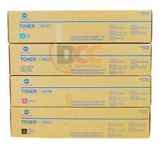 OEM KONICA MINOLTA BIZHUB PRESS C8000 TN615 TONER FULL SET OF 4 TN-615 CYMK