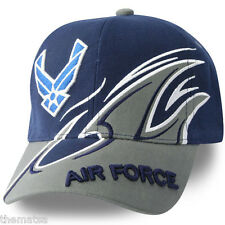 AIR FORCE SHARK FIN  DIRECT EMBROIDERED HAP ARNOLD LOGO  MILITARY HAT CAP