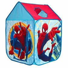 OFFICIAL SPIDERMAN WENDY HOUSE PLAY TENT CHILDRENS POP UP EASY ASSEMBLY