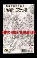 SUPERIOR IRON MAN #1 1:300 ALEX ROSS SKETCH VARIANT NM/M UNREAD COPY COMIC KINGS