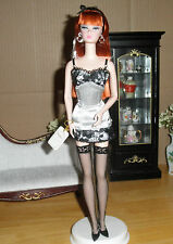 2003 Lingerie # 6 Silkstone Barbie Doll Gold Label !4 +