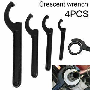 Adjustable Hook Wrench C Spanner Square Spanner for Bikes Motorcycles Repair UK