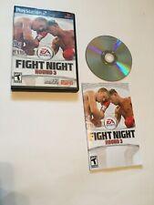 Fight Night: Round 3 (Sony PlayStation 2, 2006) Cib