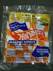 1992 Hot Wheels Racing Series Cars McDonalds Thunderbird #27 Happy Meal Toy