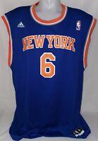 Original Adidas New York Knicks NBA Trikot Jersey Nr. 6 Chandler Gr. XL