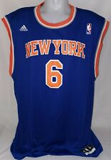 Original Adidas New York Knicks NBA Trikot Jersey Nr. 6 Chandler Gr. XL