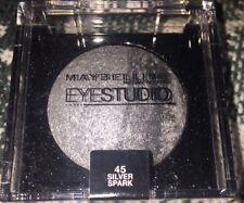 Maybelline Eye Studio Duo 45 Silver Spark Eye Shadow .09oz Sealed