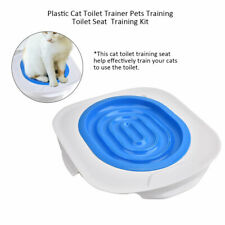 Hot Sale Cat Toilet Training Kit Kitten Plastic Mat Pet Supplies Behavior Litter