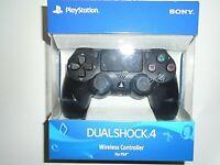 "Sony PlayStation Dualshock 4 Wireless Controller - Jet Black (3001538) ""NEW"""