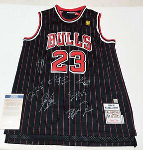 "Bulls #23 ""GOAT"" TEAM Autographed Super Rare Jersey + COA, Certified Item"
