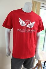 Operation Wear Red Aplastic Anemia red Large shirt UNWORN!!