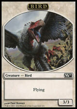 7X 3/3 Flying White Bird TOKEN (2/6) LP Magic 2011 Core Set M11 MTG