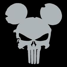 Mickey Mouse Punisher Laptop Window JDM Vinyl Decal Sticker