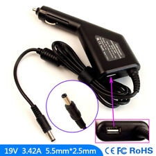 Laptop DC Adapter Car Charger USB Power for Asus Lamborghini VX7SX VX5 VX6S VX7S