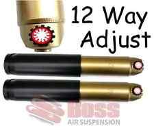1pr BOSS 12 Way Adjustable GEN II Shock Absorbers 690-404