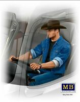 Masterbox 1:24 -scale model figure kit Truckers Series Mike Barrington MAS24044