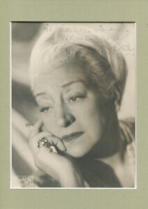 Autographe Dédicace ORIGINAL de l'Actrice FRANCOISE ROZAY sur Photo Studio