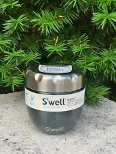 Swell Food Container, Dual Food Bowl, thermos,Vacuum Flask Blue NEW
