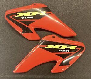 Honda XR 70 Fuel Tank Shrouds