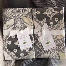 2 Pottery Barn JACQUELYN Standard Pillow Shams Brand New