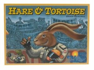 Hare And Tortoise Board Game by Rio Grande Games David Parlett RARE OOP