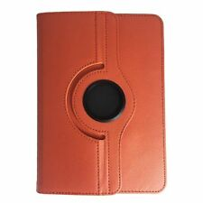 Bookcase Tablet Tasche Acer Iconia One 10 B3 A30 K41Q Hülle Orange 10.1 Zoll 360
