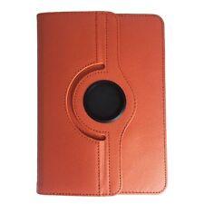Bookcase Tablet Tasche für ARCHOS / Tyre24 Xenon Hülle Orange 10.1 Zoll 360