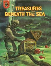 TREASURES BENEATH THE SEA By ROBERT SILVERBERG Whitman Publishing HC 1960