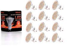 12X GU10 LED Lampe von Seitronic mit 3,5 Watt, 300LM und 60 LEDs Warm weiß 2900K