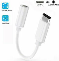 3.5mm Type C To USB C Aux Earphone Audio Jack Adapter Headphone Cable USB NEW