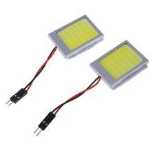 2 X Panneau T10 24 SMD COB LED Voiture Ampoule Lecture/Plafonnier Lampe Bla H3X1