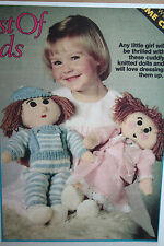 Boy and Girl Doll Toy Knitting Pattern and Clothes