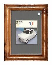 Collectors Classic Car  - Vespa  400  - 1957 - 1962   -   Mounted Display