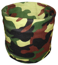 Classic Jungle Camo Tubular Multi Function Headwear Scarf Balaclava Beanie Cap