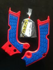 HONDA CRF 450 CRF450 2017-2018 ACERBIS RED / BLUE FRAME GUARDS