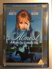 Rosanna Arquette Hugo Weaving ALMOST: Modern Day Cinderella Story 1990 UK DVD