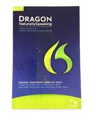 🌟 NEW Dragon NaturallySpeaking 12 Premium software w/headset microphone
