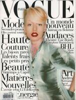 Vogue Paris March 1995 Luc Bondy Andres Serrano 070519DBE