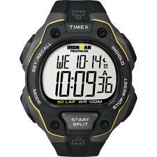 Timex Ironman 50 Lap Watch - Black/Yellow water resistant 330' maximum Depth