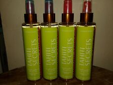 4x Victoria'S Secret Tahiti Secrets Monoi Oil Shimmer Glow Body Oil Rare Lot x4