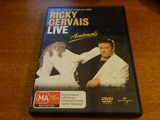 RICKY GERVAIS LIVE : ANIMALS DVD *BARGAIN*
